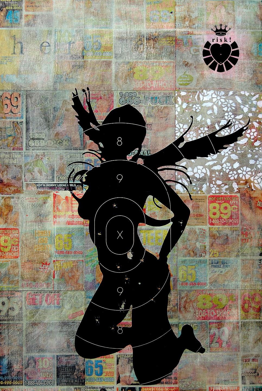 The Heroine / 20 x 14 / Original Sold