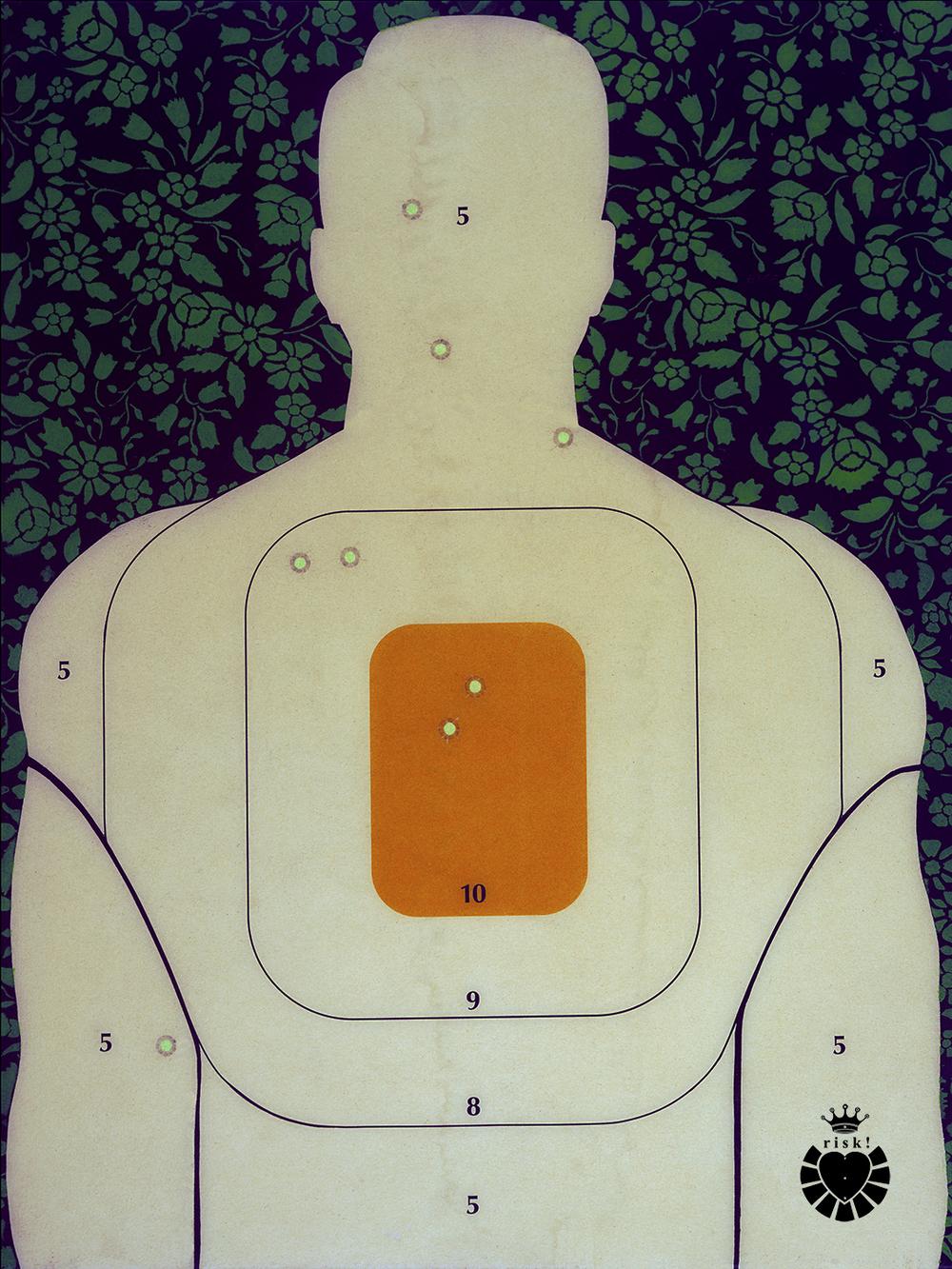 Hank's Training Target / 24 x 18 / Original Sold