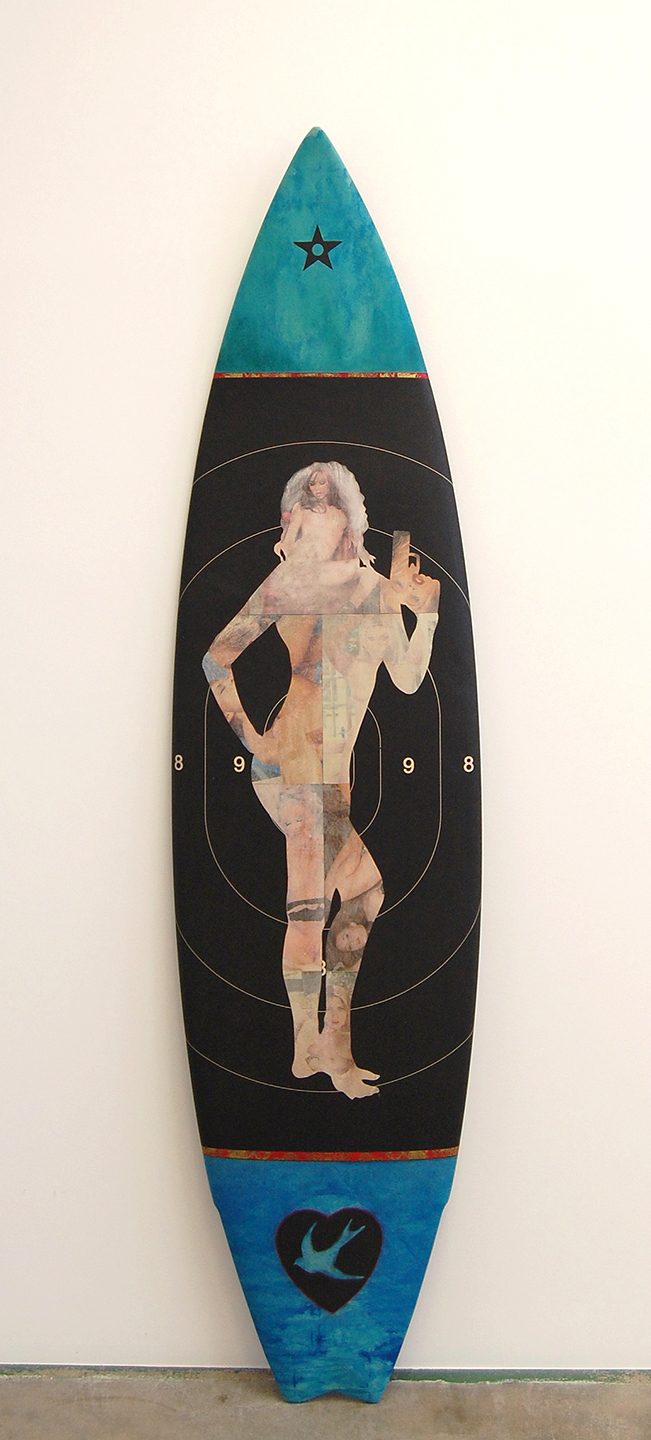 Risk 6'2 Short Board / Winger Swallow Tail / Sold