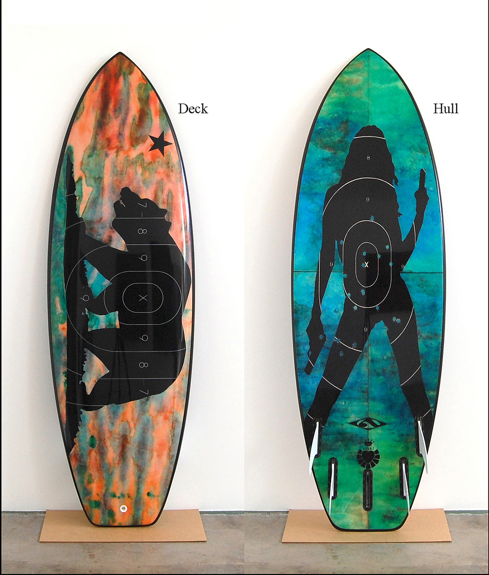 Risk Blackbird / 5'9 Anderson Fish / Sold
