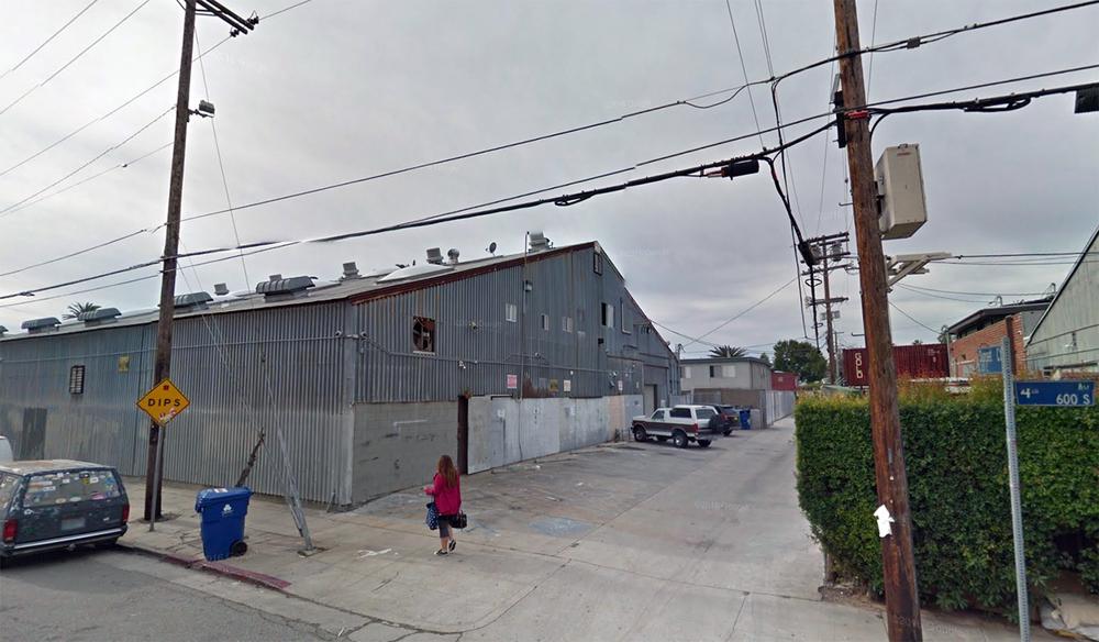 Beach Studio / 361 Vernon Ave. Venice, CA (1991-2000)