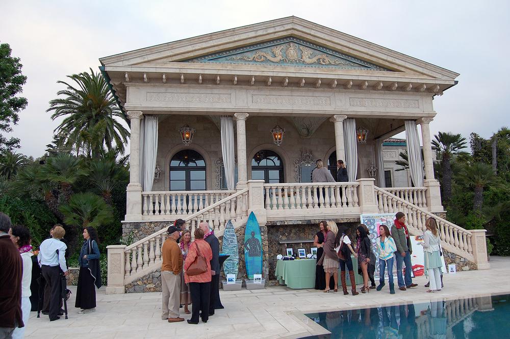 Malibu Benefit Pool House View