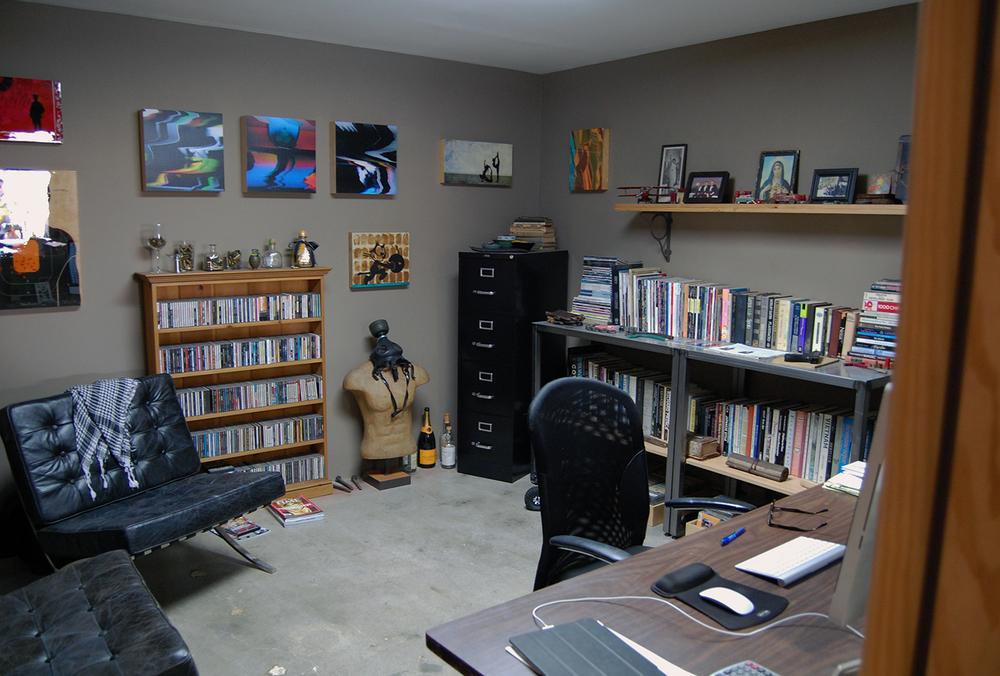 Reverse angle office shot