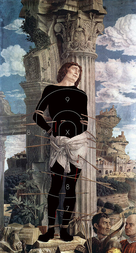 Mantegna's Risk / 60 x 32