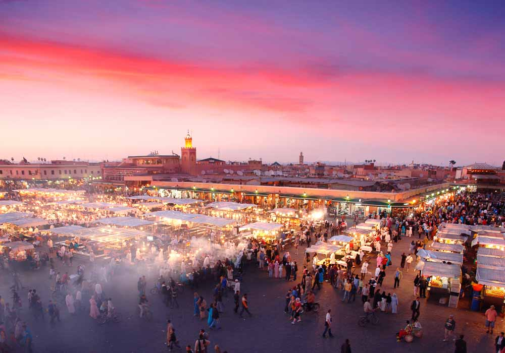 GUIDED TOUR OF MARRAKECH