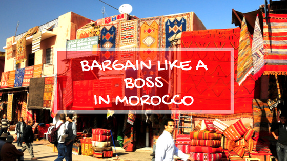 HOW TO BARGAIN IN MARRAKECH