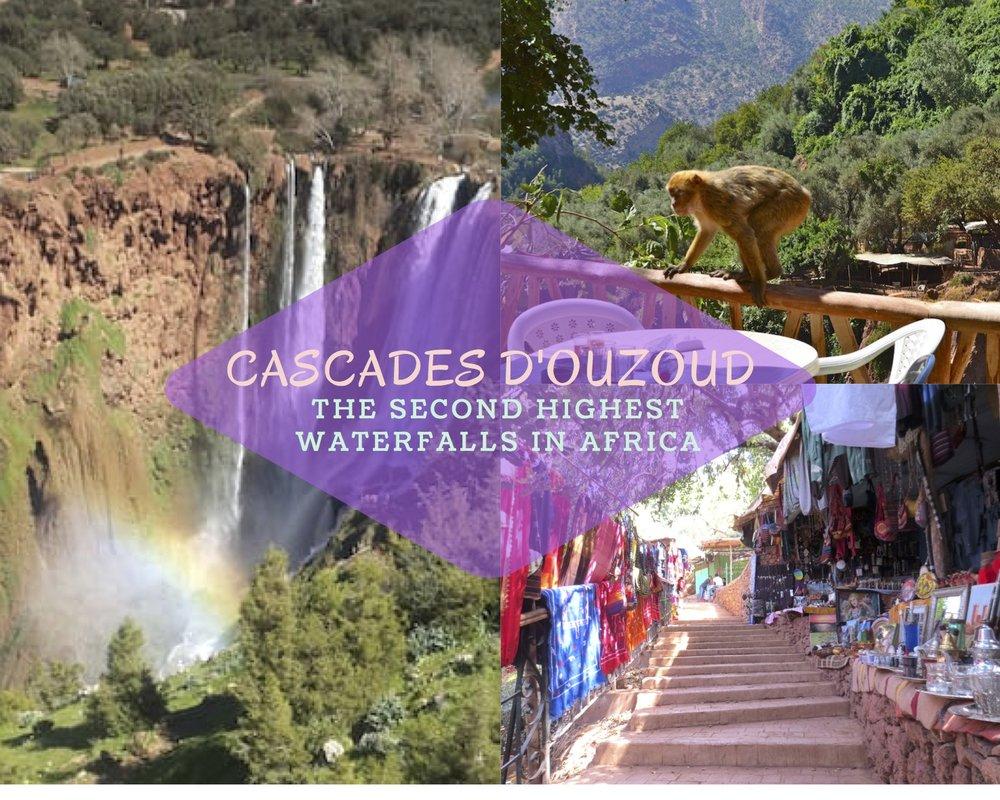 FULL DAY: CASCADES D'OUZOUD
