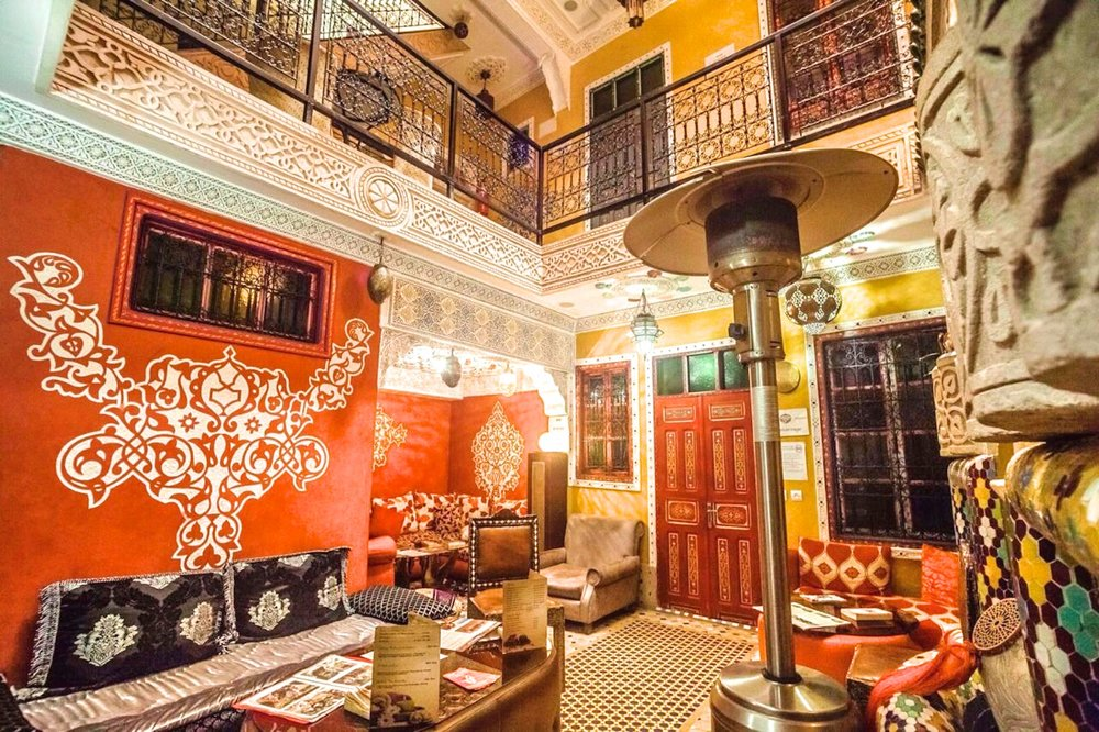 Rouge Travel operates a range of accommodation in the Marrakech Medina, from hostels, luxury riads, and whole riad rental.
