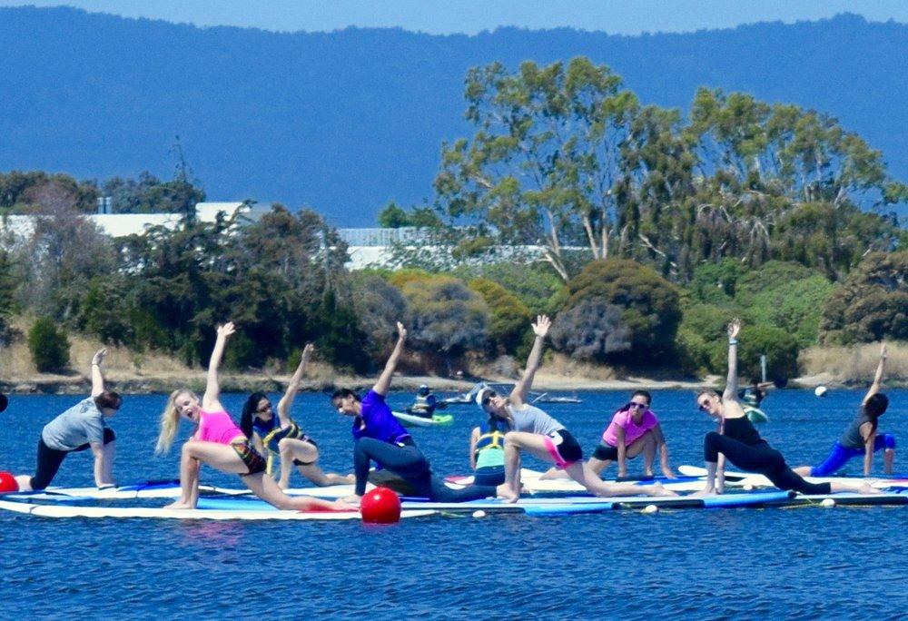 Paddle Board Yoga Workshops Summer 2016
