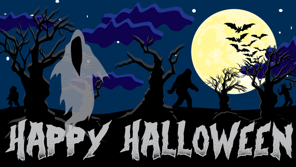 Happy Halloween - Computer Desktop Background