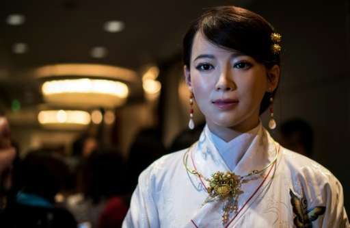 "Humanoid robot ""Jia Jia"" may one day replace humans in many service roles."