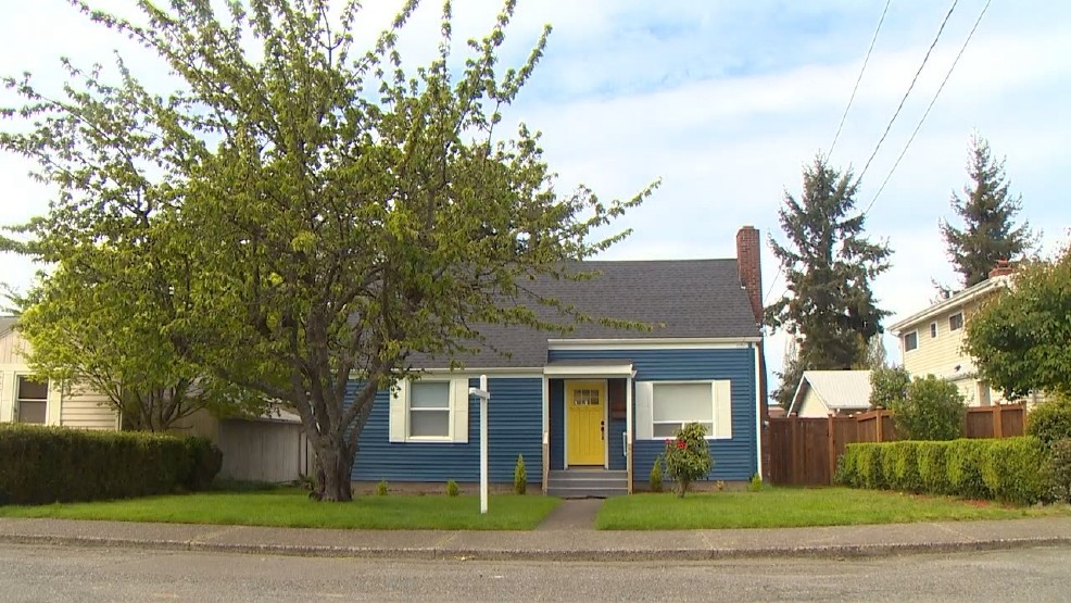 Ted Bundy's family bought the home in 1955, and sold it in 1965. (Image credit: KOMO)