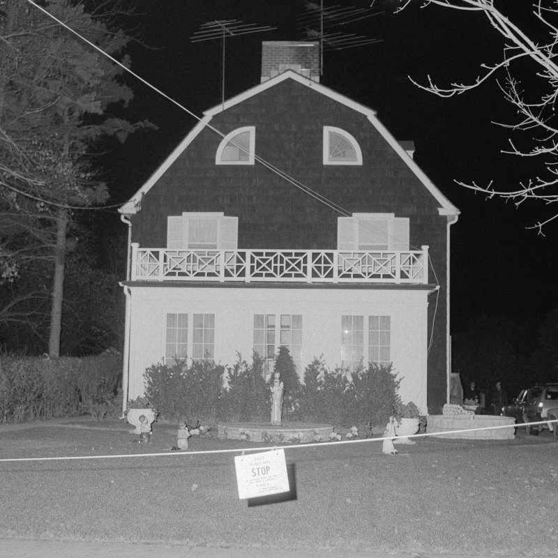 The Amityville house.