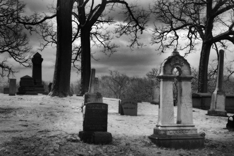 Greenwood Cemetery by Corey Schjoth of Phantasmagoria Photography