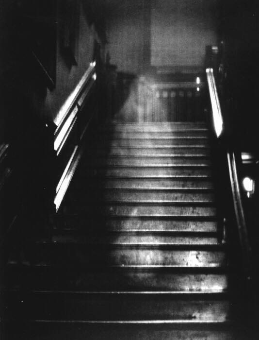 The 1936 photograph of the Brown Lady of Raynham Hall, which many investigators believe represents actual anomalous activity.