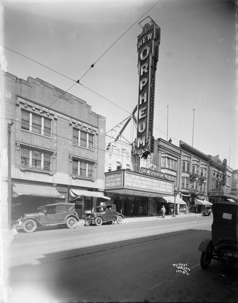 The Orpheum in 1927. Credit:  The Wisconsin Historical Society