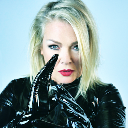 Kim Wilde, perhaps best known for her 1981 hit  Kids in America .