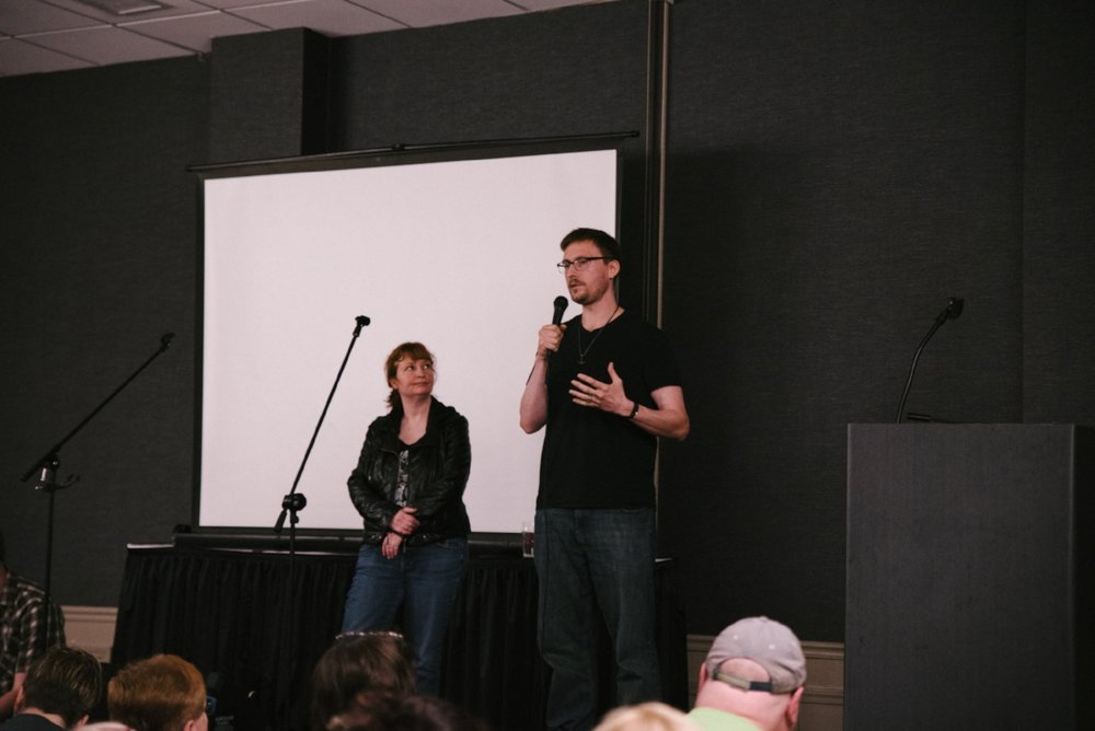 Allison and Tobias discussing the ethics of investigation, and how to discern between honest reporting and insincere showmanship.  The discussion centered around the Chicago mothman sightings.  To learn more about the recent flap of flying humanoid sightings around Lake Michigan, visit our  timeline .