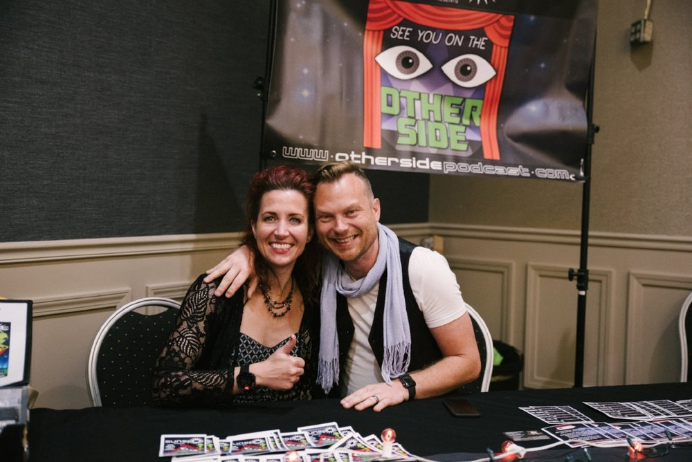 Wendy Staats and Mike Huberty of Sunspot also co-host a paranormal podcast called See You on the Other Side. Each episode features a new song tailored to that week's content.