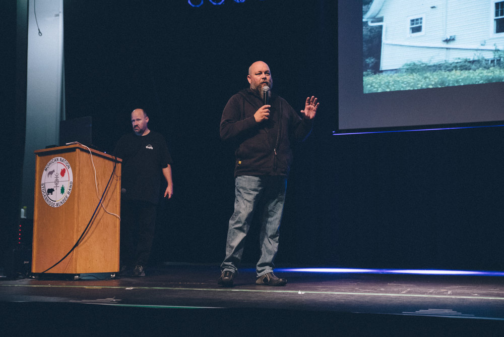 Fox Valley Ghost Hunters presented on paranormal activity they've investigated in northern Wisconsin.