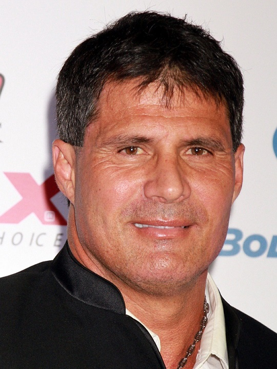 Jose Canseco won two World Series during his twenty-year career.  (Image credit: Google)