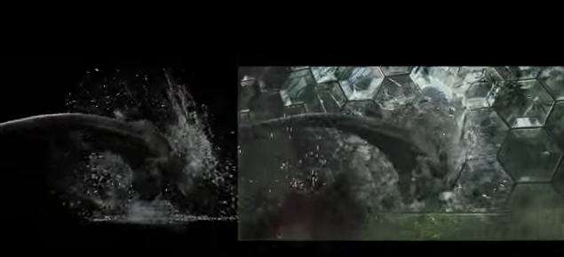Great VFX demo from  Jurassic World