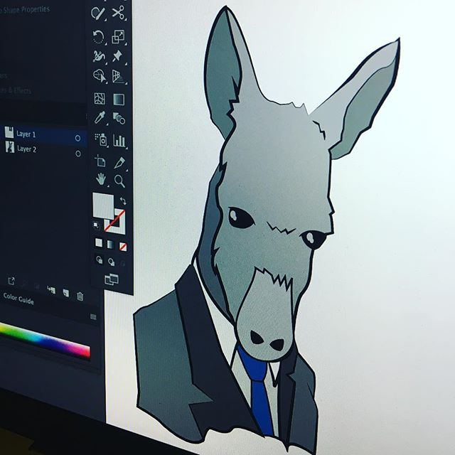 Putting donkeys in suits, yep just part of the job #premiumdesign @spreadshop . . .  #graphicdesign #design #art #graphics #graphictees #graphicart #logodesign #mooseartdesigns #simplycooldesigns #adobe #illustrator #photoshop #draw #sketch #illustrate #boston #bostondesigner #graphicdesigner #inspire #designsdaily #dailyinspiration