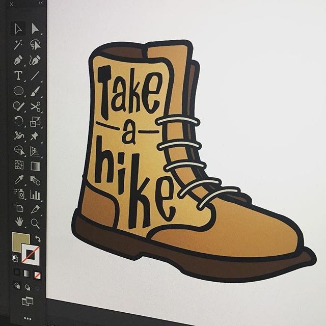 Some fun designs underway #weekendhustle #takeahike . . . .  Merch link in bio | Shop this and other designs .  Link in bio | http://bit.ly/2iNcuIO .  #graphicdesign #design #art #graphics #graphictees #graphicart #logodesign #mooseartdesigns #simplycooldesigns #adobe #illustrator #photoshop #draw #sketch #illustrate #boston #bostondesigner #graphicdesigner #inspire #designsdaily #dailyinspiration  #graphicdesign #design #art #graphics #graphictees #graphicart #logodesign #mooseartdesigns #simplycooldesigns #adobe #illustrator #photoshop #draw #sketch #illustrate #boston #bostondesigner #graphicdesigner #inspire #designsdaily #dailyinspiration