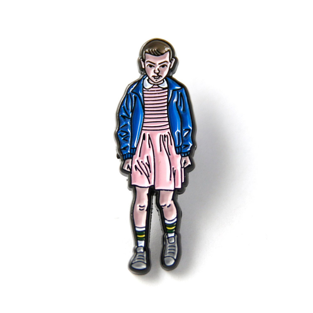 "011 ""Stranger Things"" Enamel Pin"