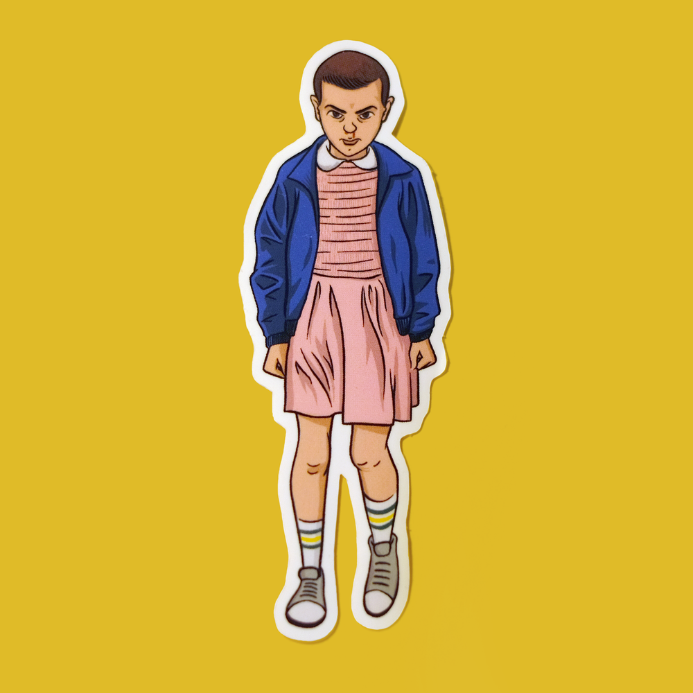 eleven-sticker-color
