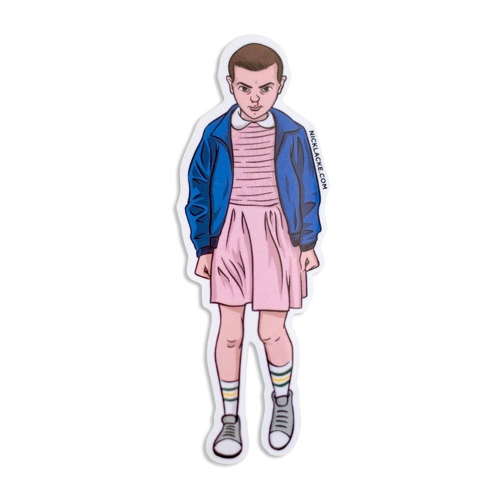 "Eleven ""Stranger Things"" Sticker"