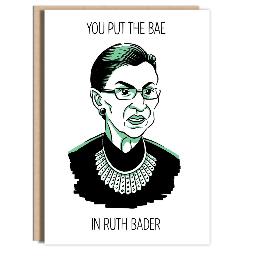 You But the Bae in Ruth Bader