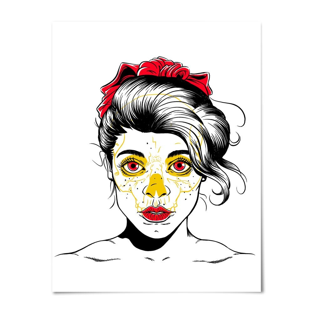 """Evie"" Screenprint"