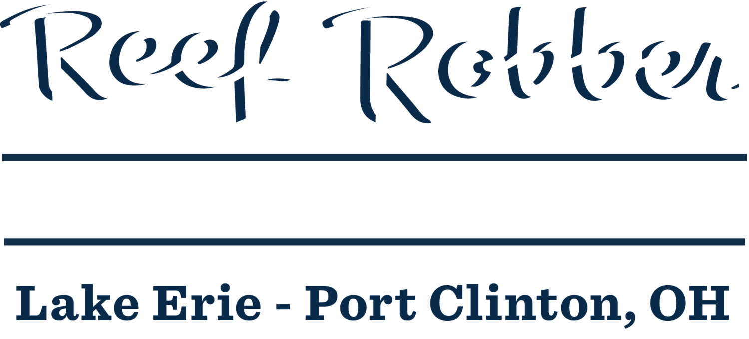 Reef robber for Lake erie fishing charters port clinton