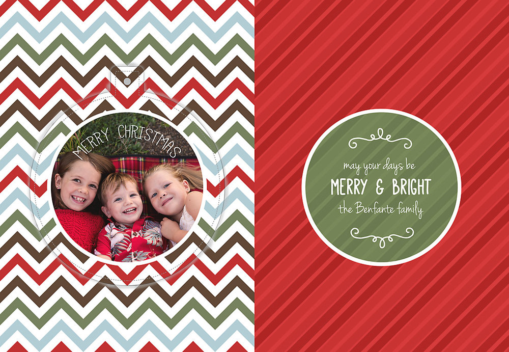 Luxe Pop Out Ornament Card