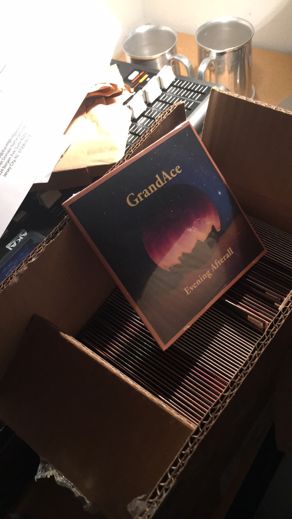 Will soon be available on cd baby and for purchase locally!
