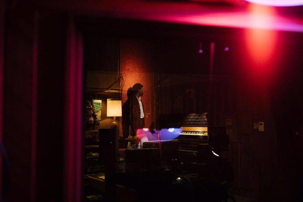 GrandAce in the Studio