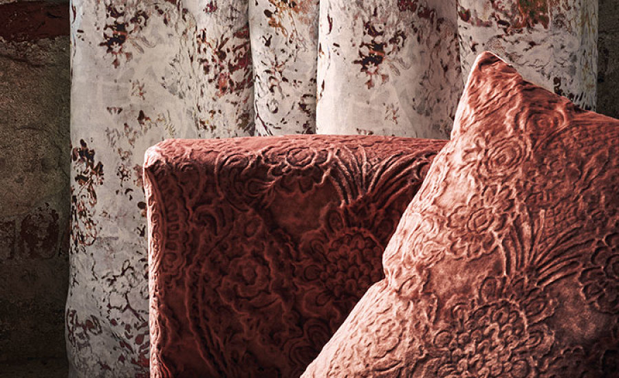 Black Edition Fabric, Wallpaper and Cushions
