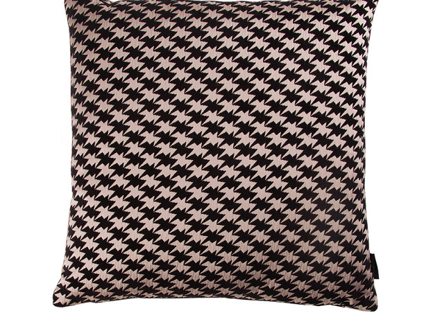 ZIG ZAG BIRDS CUSHION | POWDER