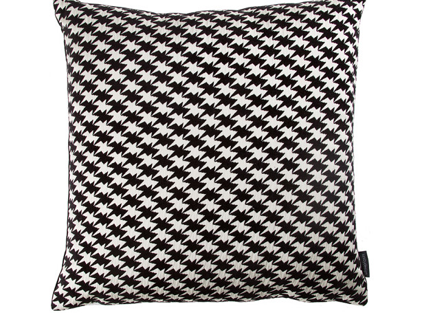 ZIG ZAG BIRDS CUSHION | MONOCHROME