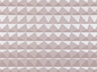 Domino Pyramid Wallpaper, Powder
