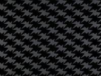 Zig Zag Birds Wallpaper, Noir