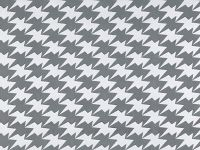 Zig Zag Birds Wallpaper, Silver