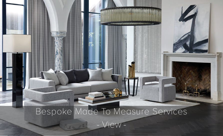 Bespoke Made To Measure Curtains.  >  find out more