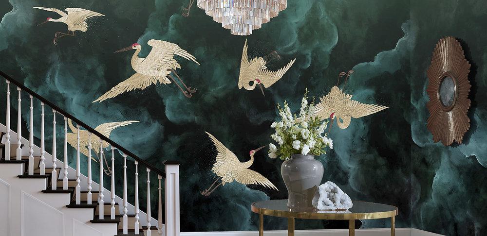 Flight | Phillip Jeffries Wallpapers