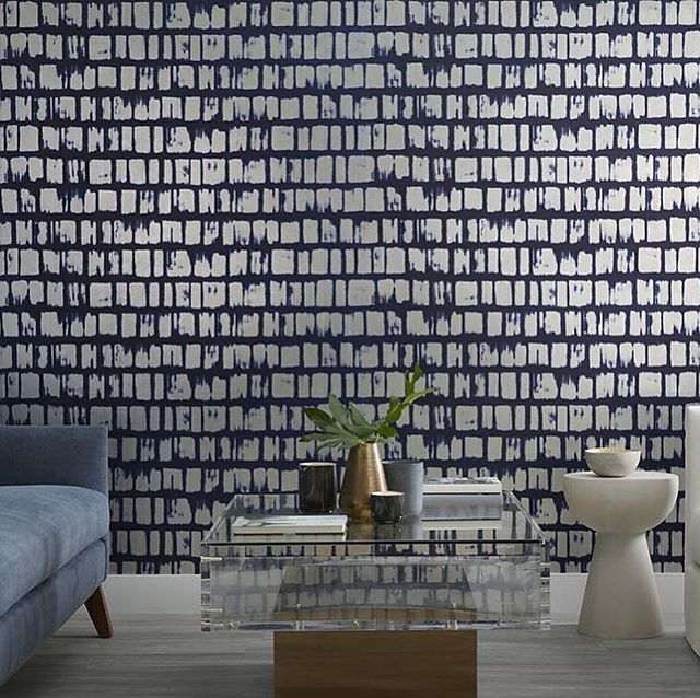 Phillip Jeffries release stunning new wallcovering collections for Spring 2019 including Vinyl Great Wall , Glazier and Flight featuring shades of Dynasty Blue, Orange and Emerald Green #wallpaper #wallcovering #luxe #interiors #interiordesign #interiors123 #contemporarystyle