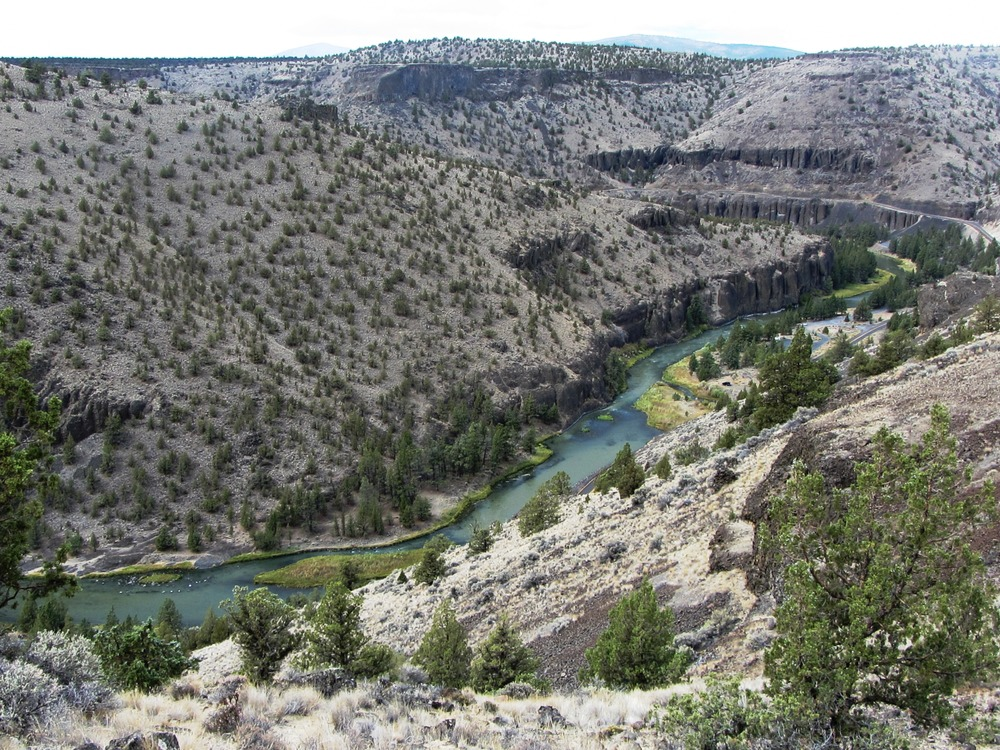 Crooked River and Crooked River Gorge