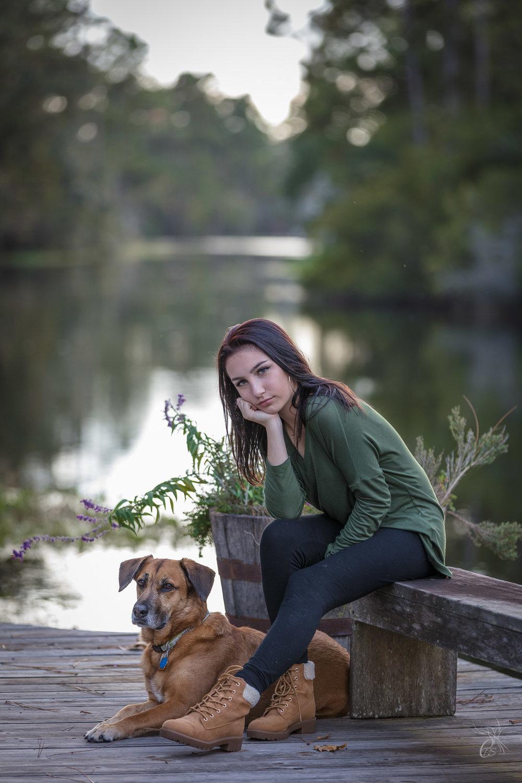Sarah & Pup
