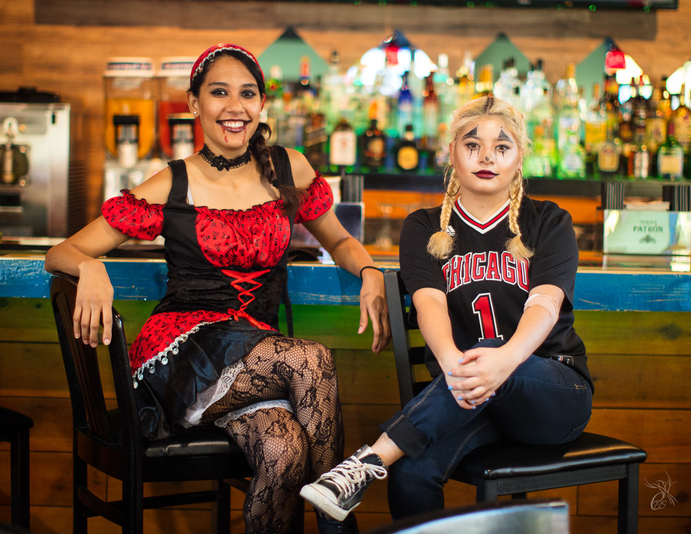 Halloween Waitresses