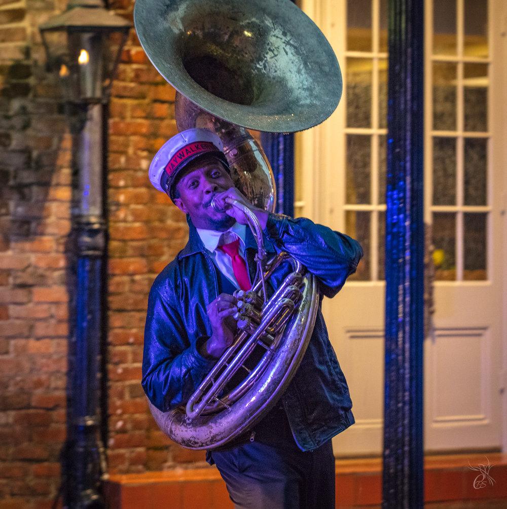 New Orleans: Blue Tuba